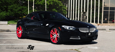BMW Z4 Spiced Up by SR Auto
