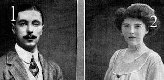 Prince Alexander de Battenberg et comtesse Anastasia de Torby