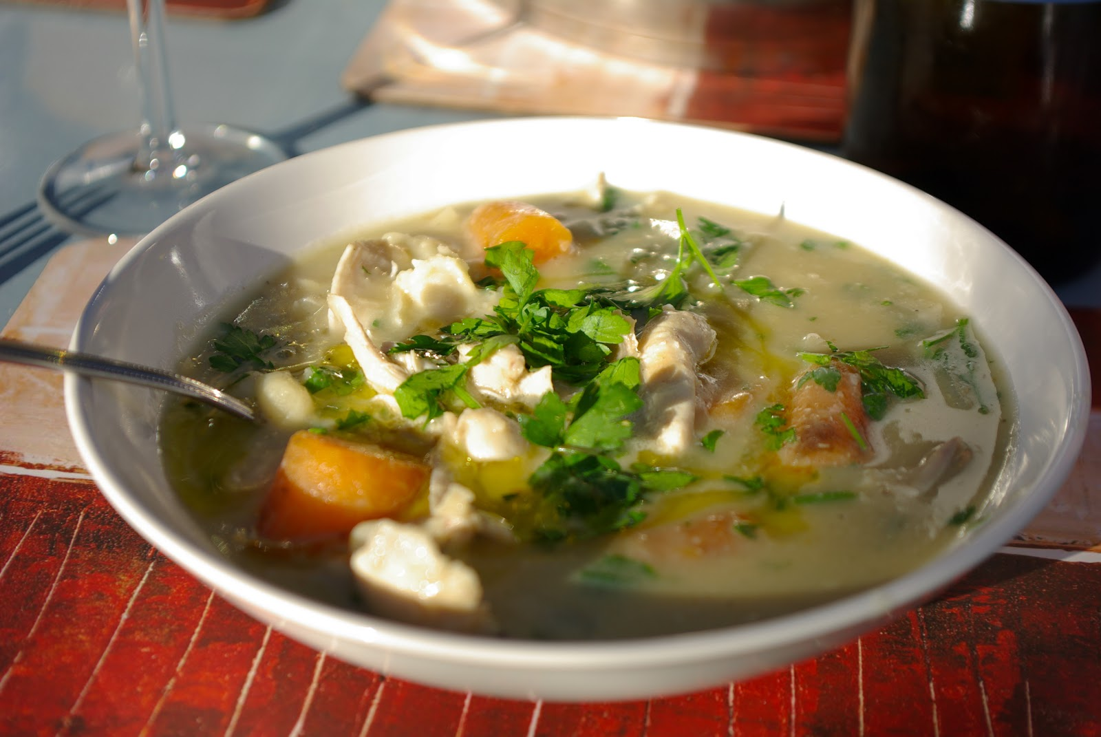 ... family food blog by Rachel Brady: Chicken stew with white beans