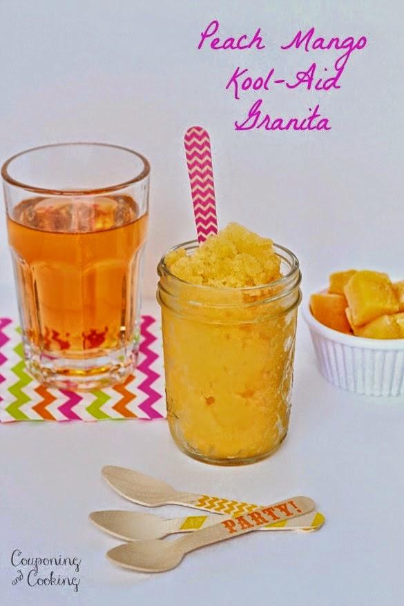 Peach Mango Granita