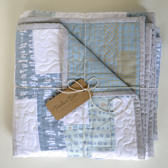 Interlock Baby Quilt by Twelve Bees
