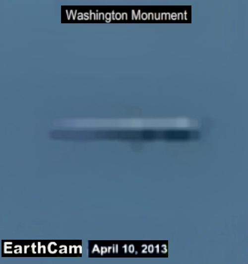 Dans  le  ciel  de  Washington  ... webcam  ...