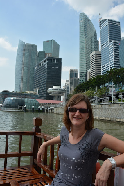 Singapore River Cruise Kristel Skyline