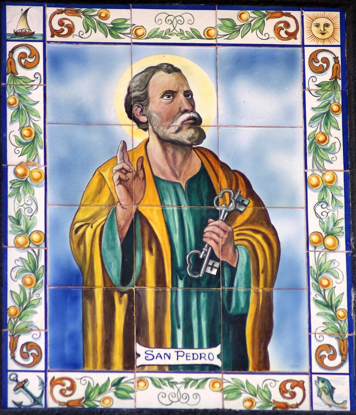 Cer mica hist rica de vinar s retablos virgen del carmen - Ceramica san pedro ...