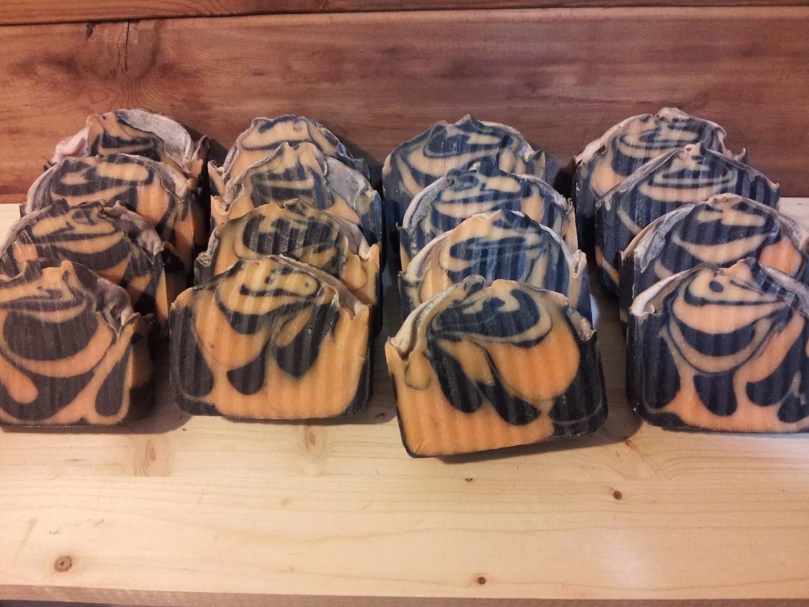 tiger stripe soap