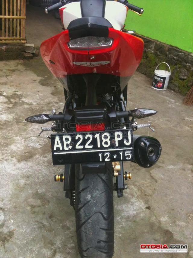 Gambar Yamaha Vixion Custom Modif Jadi YZF R125