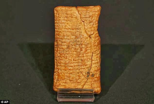 D'après une ancienne tablette d'agrile, l'arche de Noé aurait été de forme ronde D'apr%C3%A8s+une+ancienne+tablette+babylonienne,+l'arche+de+no%C3%A9+%C3%A9tait+un+coracle...