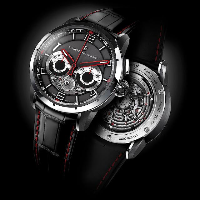 Christophe Claret Kantharos Chronograph Watch