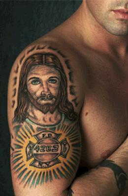 Fotos, imagens e dicas de tatuagens de jesus no braço