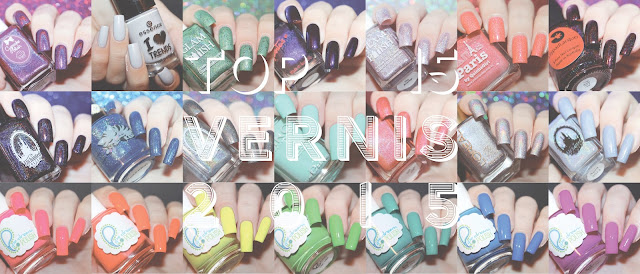 Top 15 des Vernis 2015 // Best of 2015 Nail Polishes