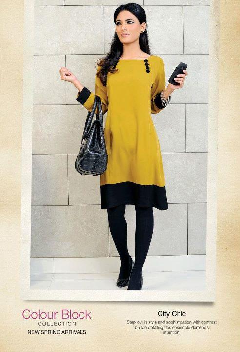 business woman dress up 2012 colour block collection