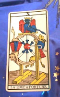 La Rueda de la Fortuna- Tarot de Marsella