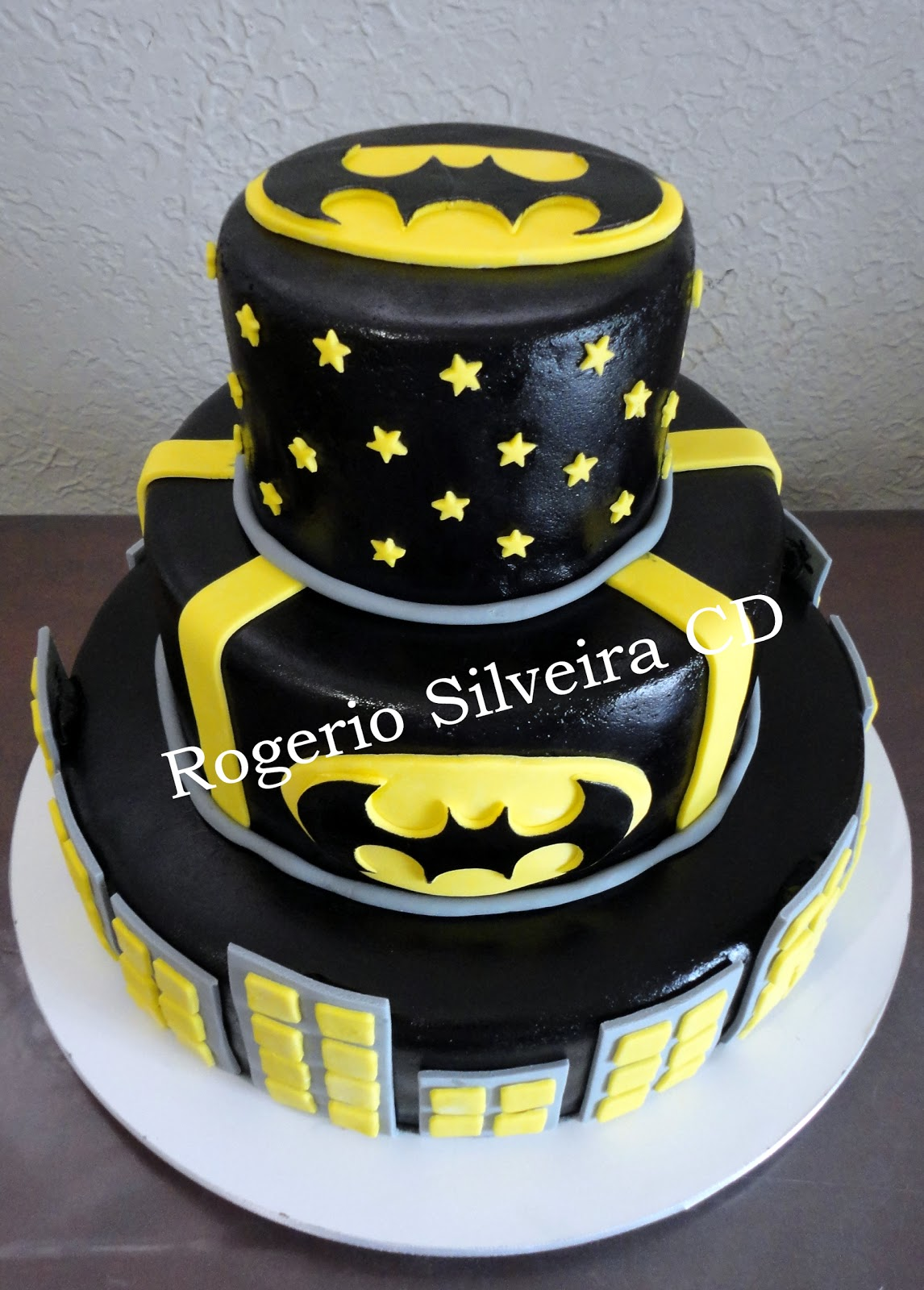 Domingo 4 De Novembro De 2012 Bolo Do Batman