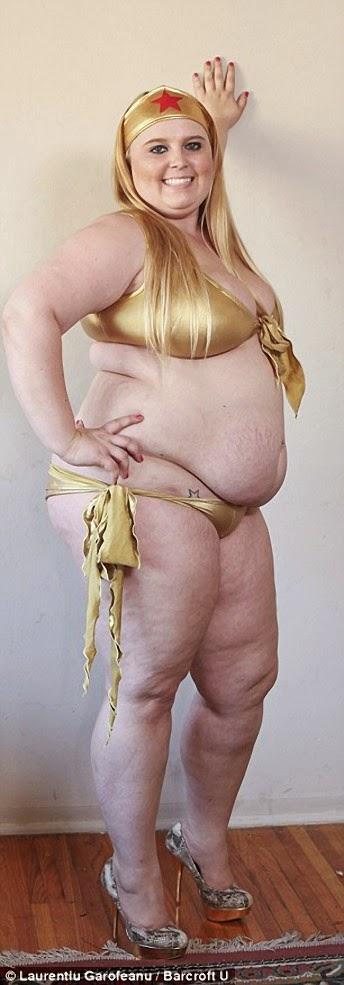 Tammy Jung, engorda para ser famosa