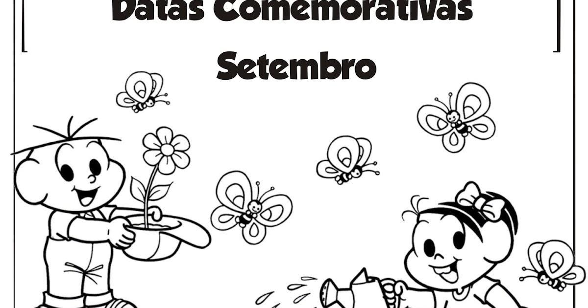 Muito Datas Comemorativas de Setembro Arquivo Ilustrado | Ideia Criativa  AT91
