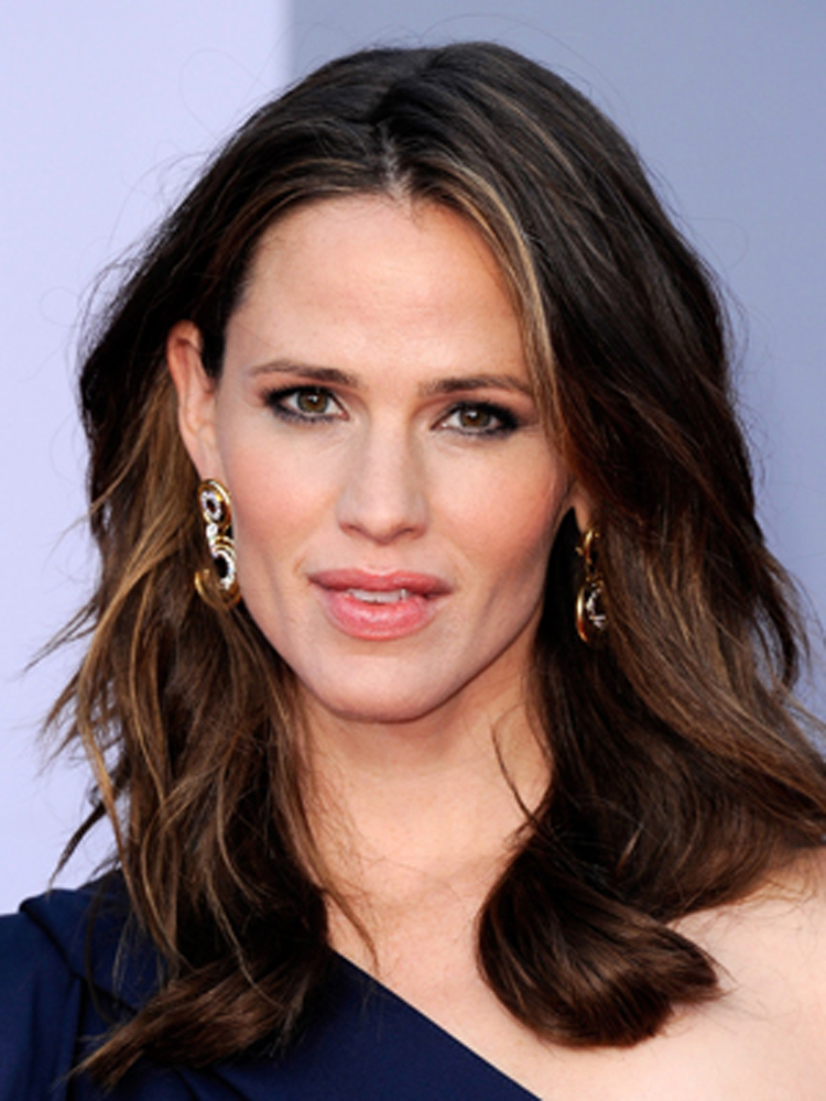 Jennifer Garner Brunette Hairstyles