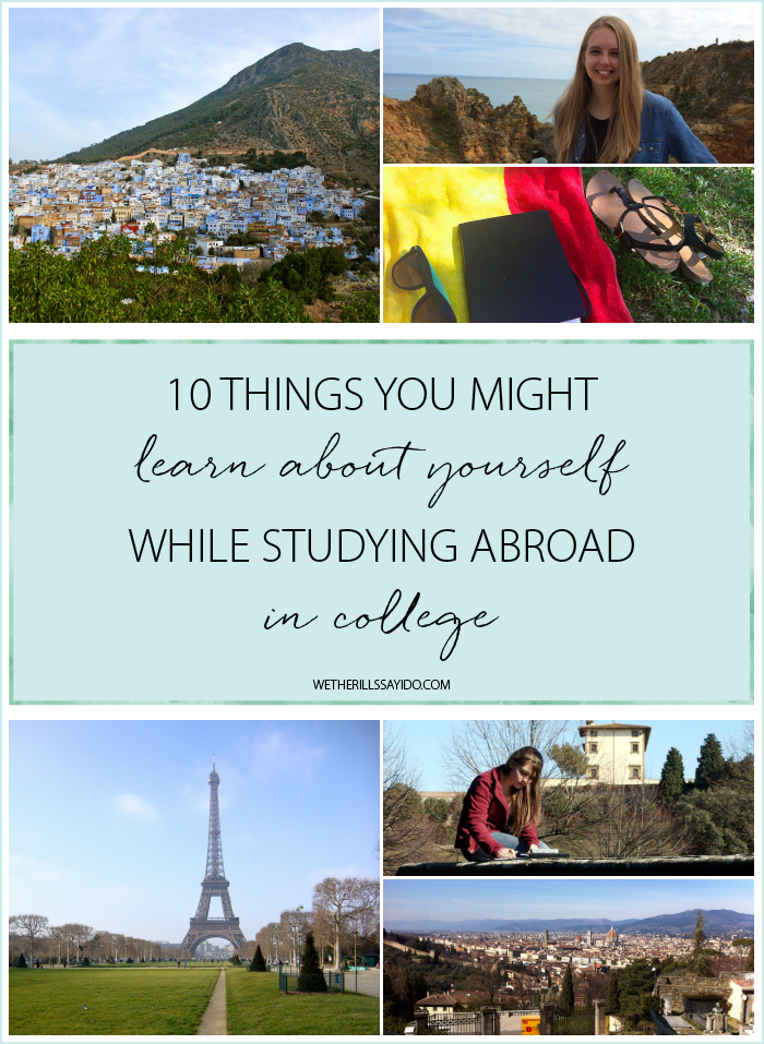 learning about yourself while traveling abroad