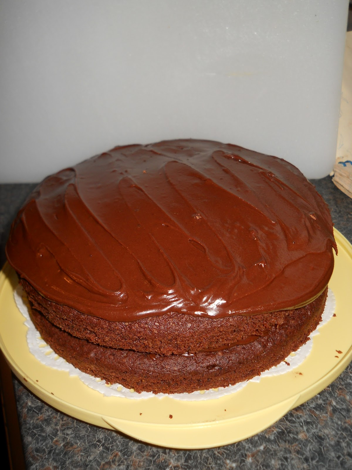 Good Food, Great Fun and Gluten Free: Quick Mix Chocolate Cake & Icing