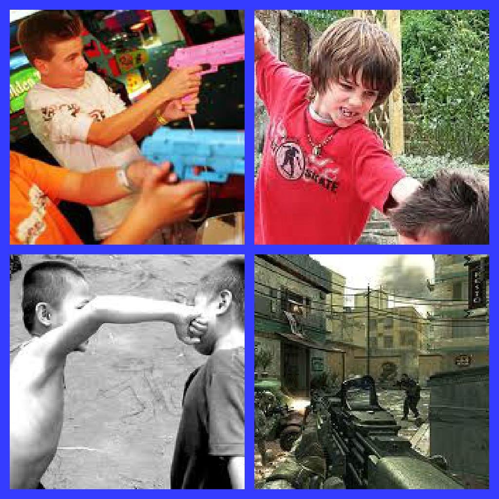 children vs violent television movies essay