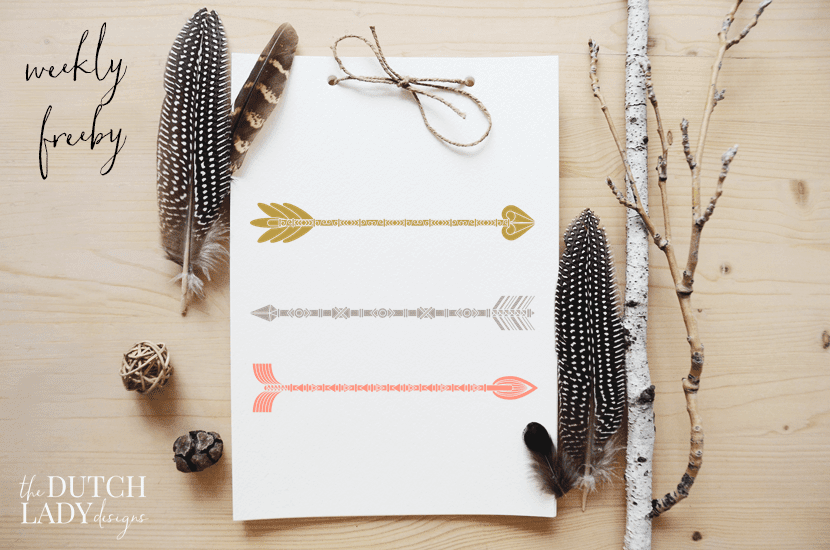 free ethnic arrow clipart