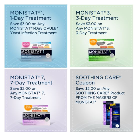 graphic relating to Monistat Printable Coupons named Monistat 7 coupon
