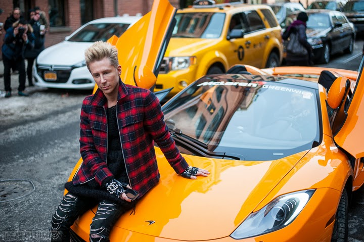 car Jeremy Scott publicity stunt