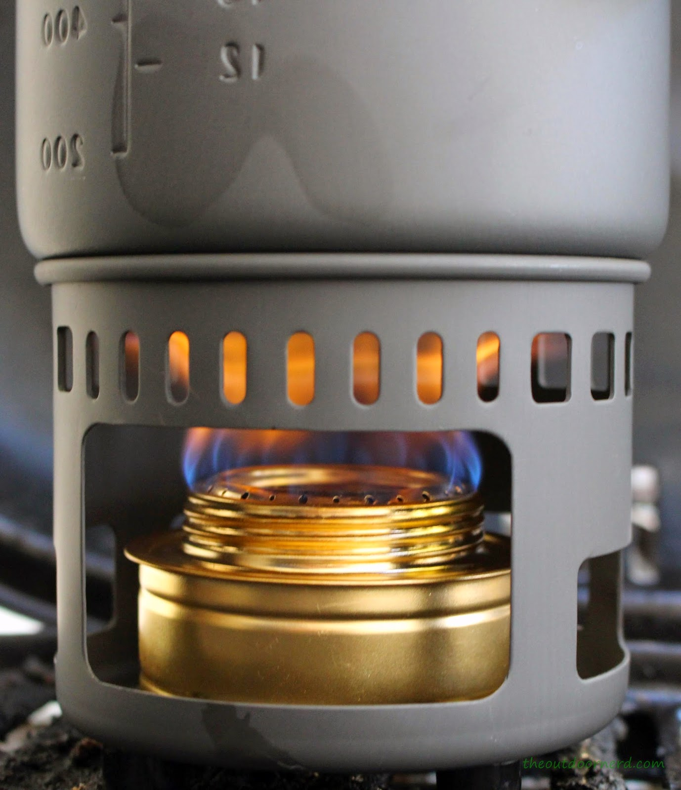 Brass Alcohol Stove for Esbit Cooking Set