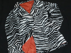 Una zebra en mis hombros