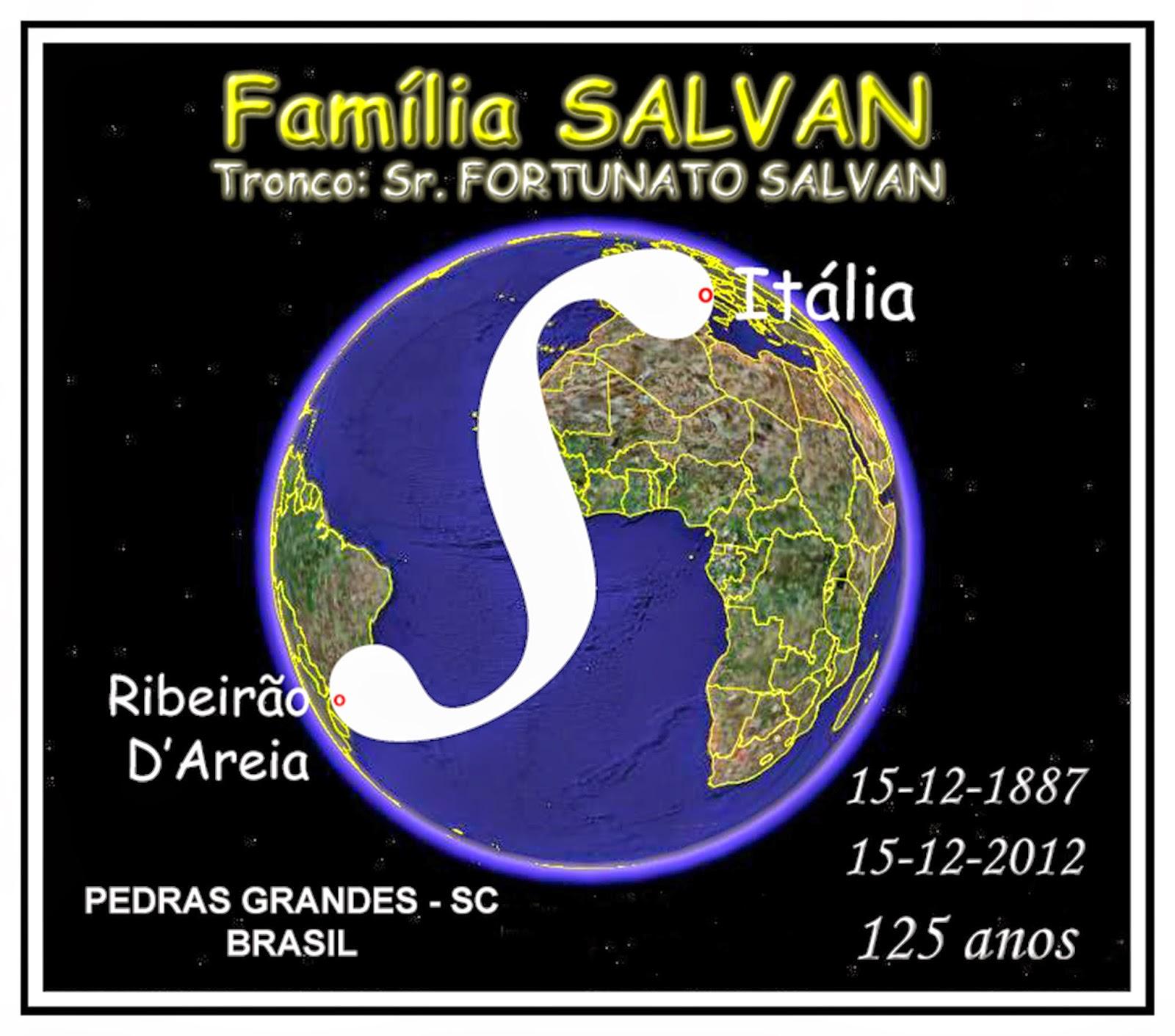 Genealogia da FAMÍLIA SALVAN