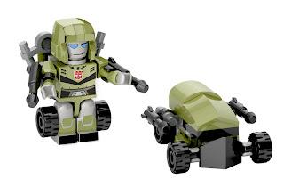Hasbro Transformers Kre-O Micro Changers Series 2 - Bulkhead