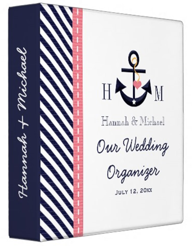 http://www.zazzle.com/monogrammed_navy_blue_pink_anchor_wedding_planner_binder-127736369211939871?rf=238845468403532898