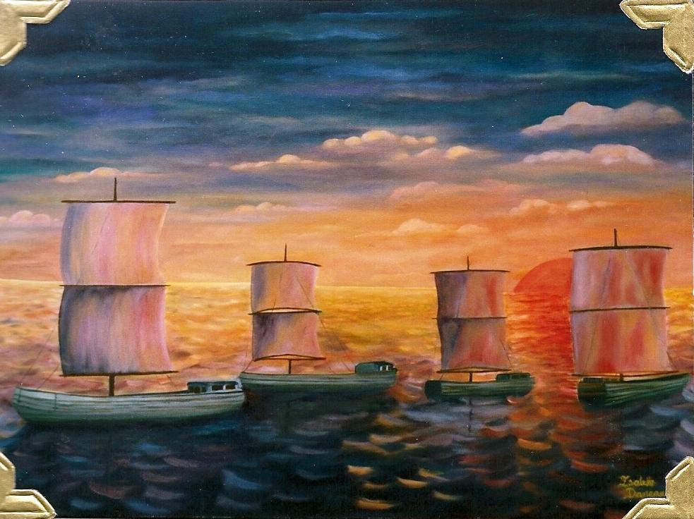 Isabelle daneau artiste peintre du qu bec biographie for Biographie artiste peintre