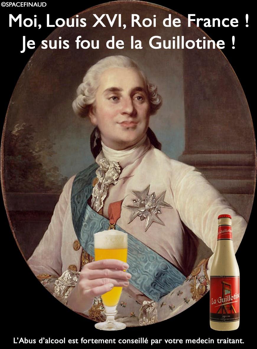 LOUIS XVI AIME LA GUILLOTINE