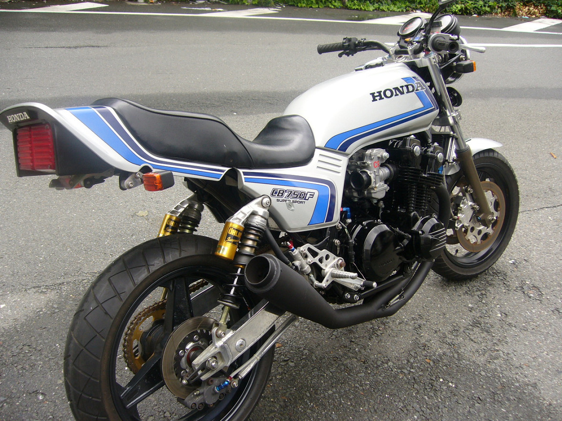 1980 HONDA CB750F   MARTINS DREAM GARAGE