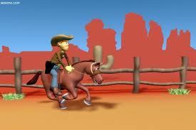 Kovboy Rodeo Oyunu