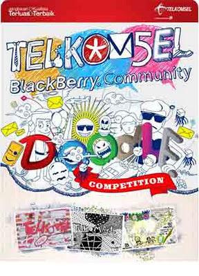 Ikuti Doodle Competition Telkomsel dan Rebut Hadiahnya!!