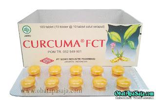 Komposisi Dosis dan Harga Curcuma Tablet