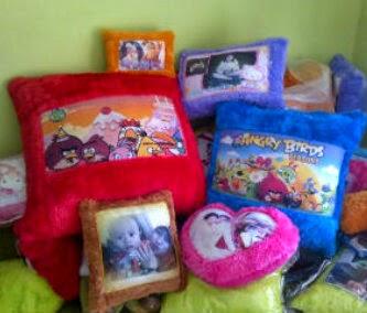 Bantal Unit, Bantal Foto, Bantal Murah, Bantal Printing