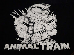 Animal Train Logo Koozie