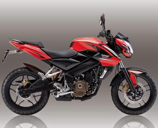 Harga spesifikasi Kawasaki Bajaj Pulsar 200NS hitam
