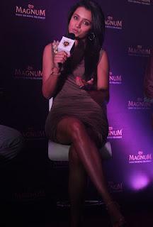 Soth Actress Trisha Hot Photos At Magnum Ice Cream Launch