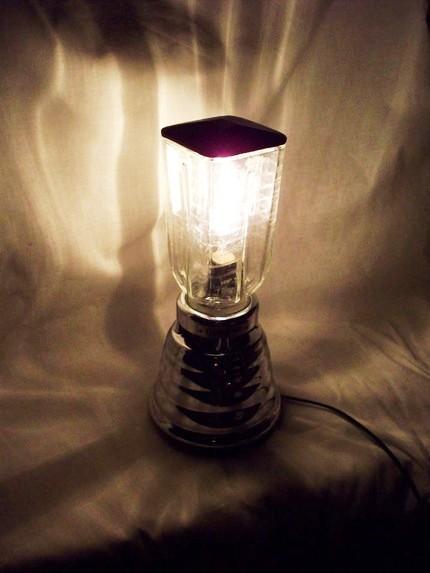 L mparas hechas con licuadoras curiosas ideas - Ideas para lamparas ...