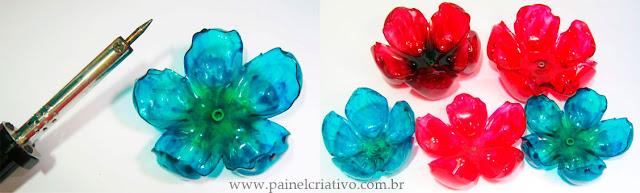 Flor de Garrafa Pet - PAP 04