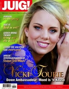 VICKI FOURIE: COVER GIRL