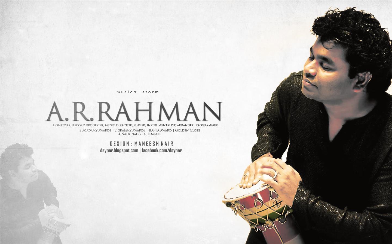 A R Rahman Creates New Works