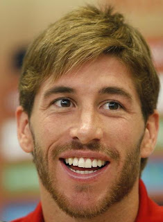 SERGIO RAMOS NEW SHORT HAIRSTYLE