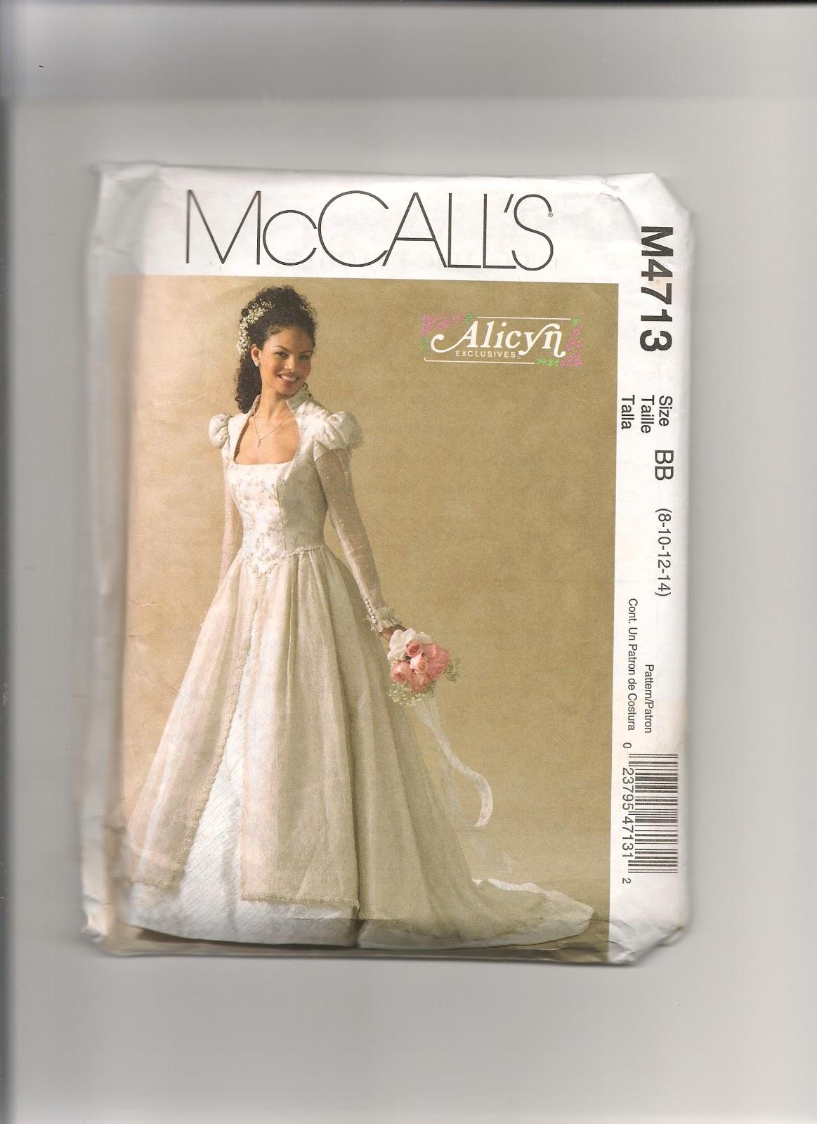 Royal Wedding Dress Sewing Patterns