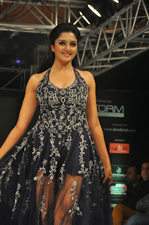 Vimala Raman Walks the Ramp in Transparent Top and Mini Skirt Beautiful babe