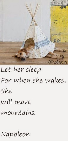 let her sleep