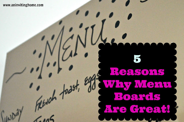 five reasons why menu boards are great